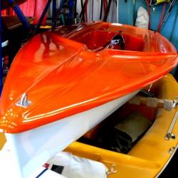 Autodach Segeljolle SEAHOPPER LASER-ähnlich, guter Zustand gebr.