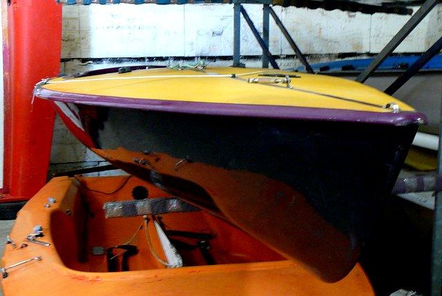 Segelboot CONTENDER RONDAR, gebr. guter Zustand, segelfertig