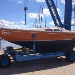 Sehr gepflegtes IF-Boot (Marieholm) mit Pott & Pann abzugeben! Überkomplett ausgerüstet - segelfertig - viele Extras.