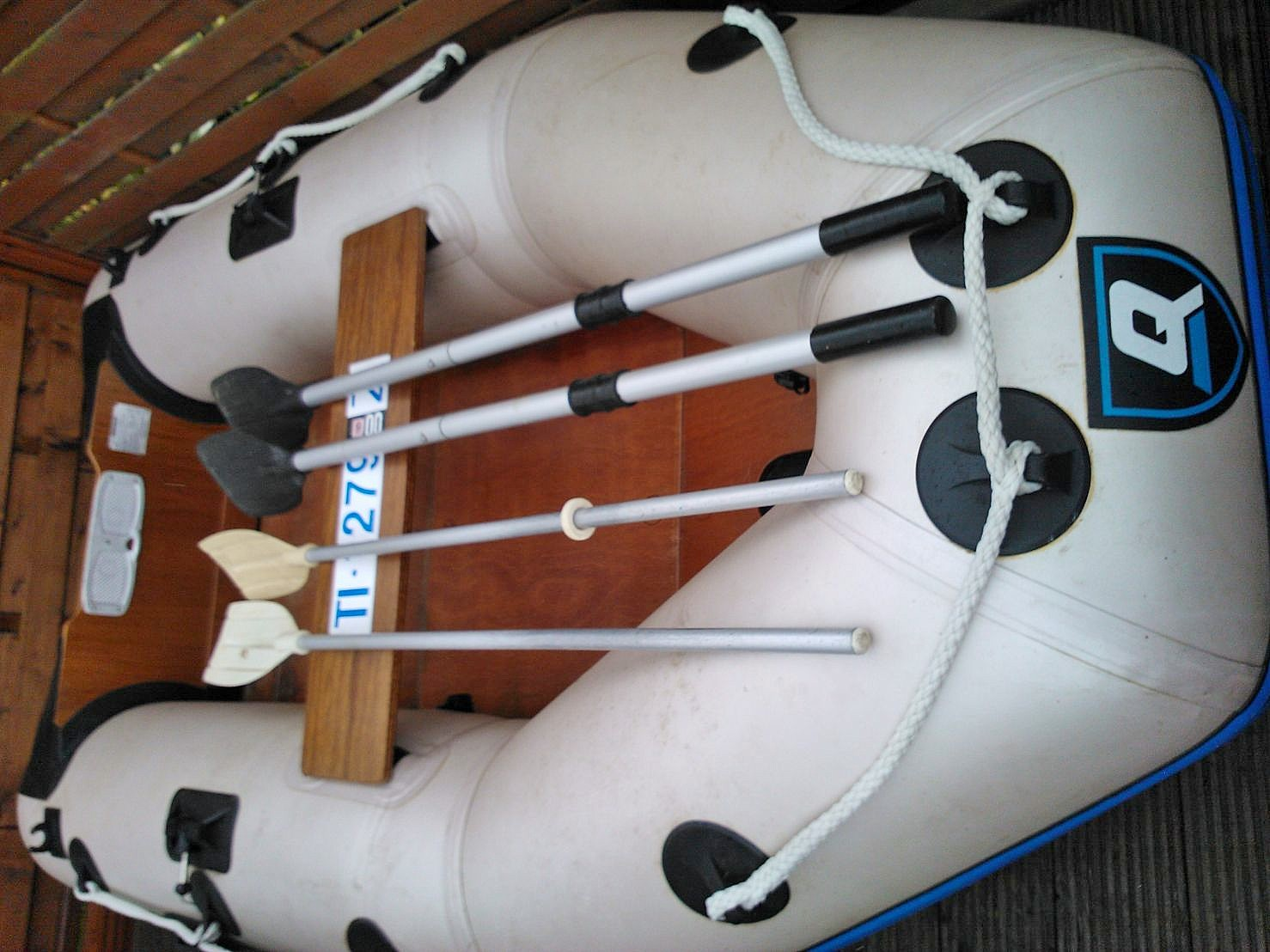 Quicksilver Schlauchboot mit 4 PS Mariner Motor