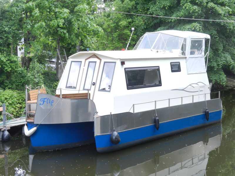 Einzigartiges Wohnboot/Hausboot