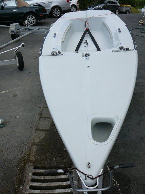Segelboot LASER 2 Regatta o. FUN, gebr., wird überholt