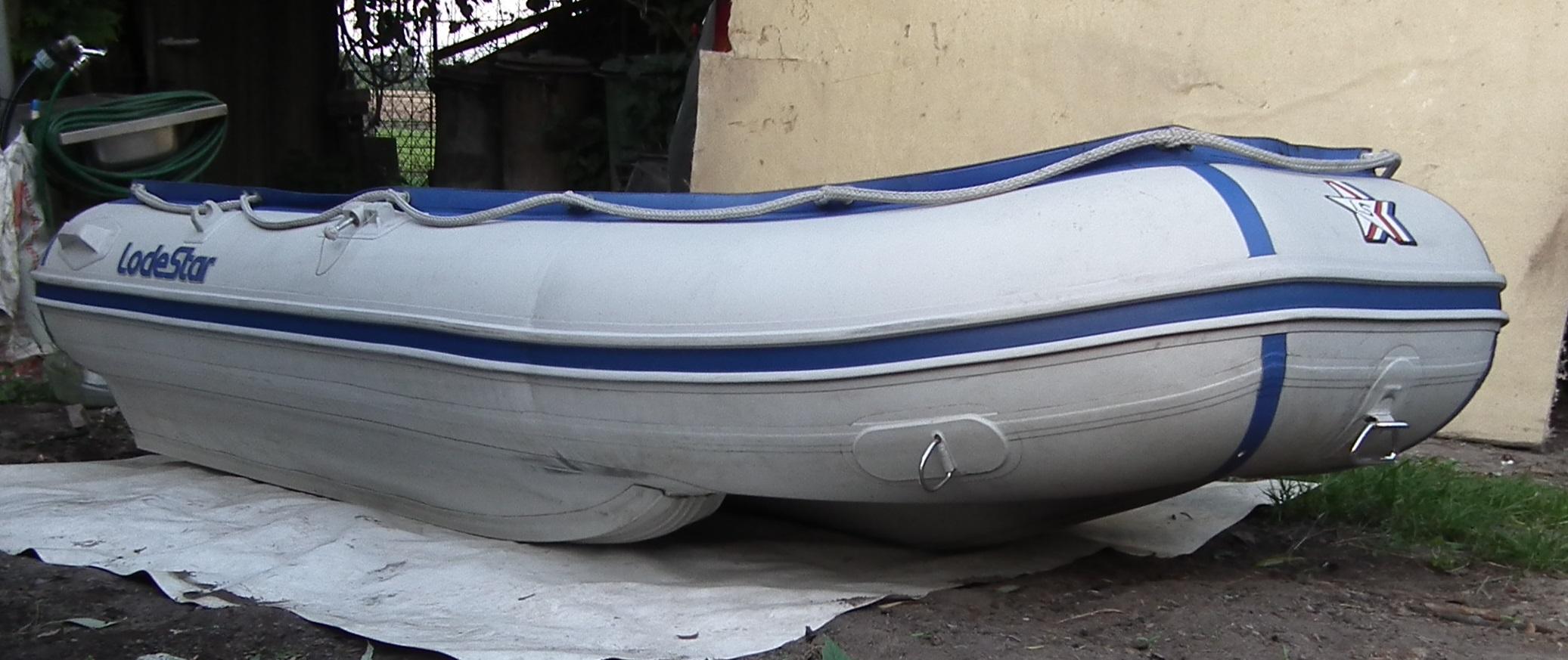 TOP Schlauchboot mit Aluboden