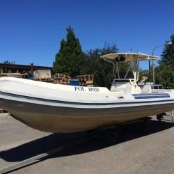 Schlauchboot/Rib Nautica 29 mit Yanmar 315HP