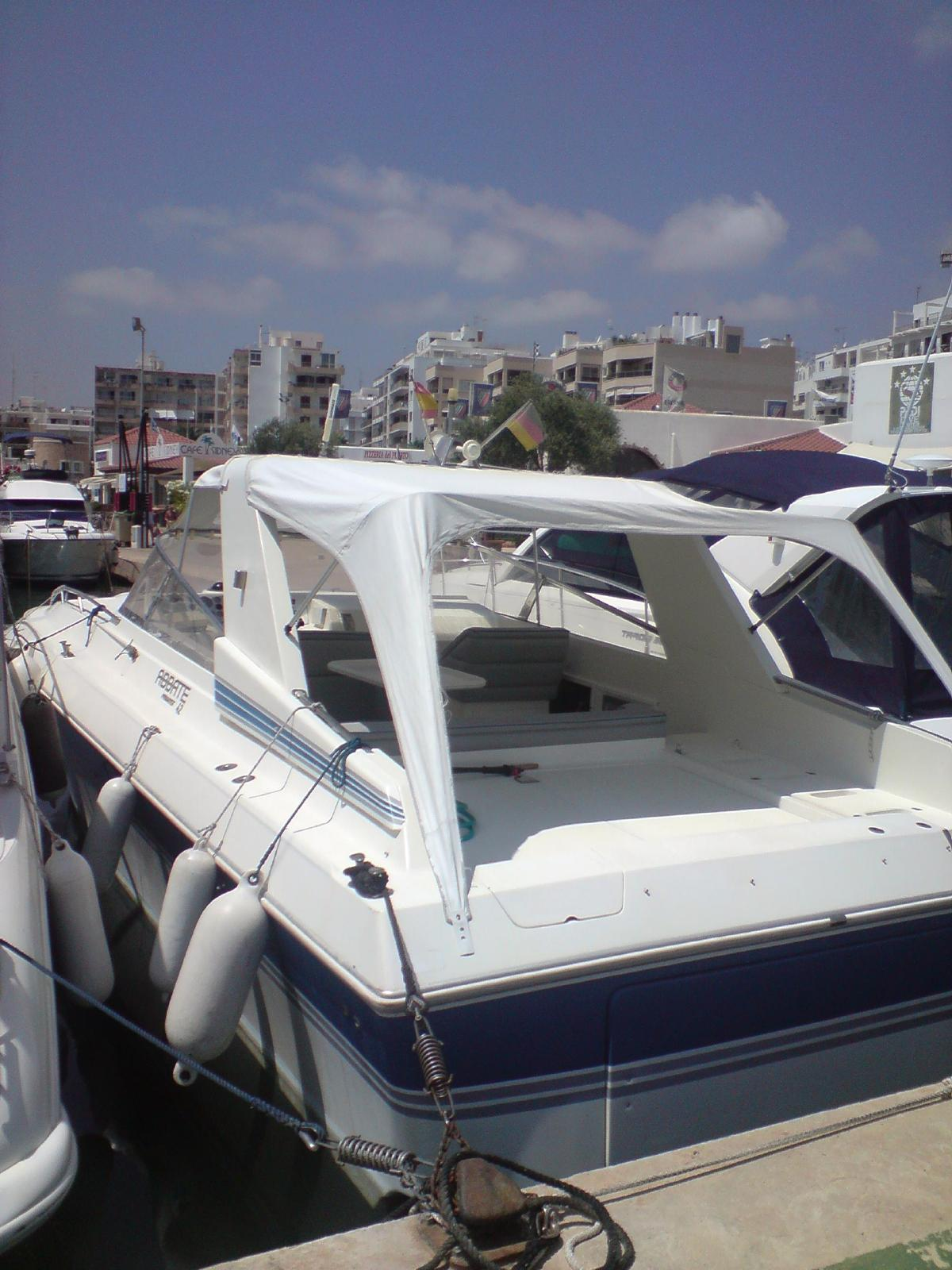 Abbate 42 Motoryacht Turbodiesel Cat 3208  2x 425PS