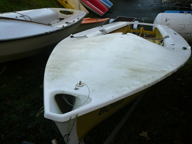 Segelboot WINDY Jolle gebraucht, leicht überholungsbedürftig