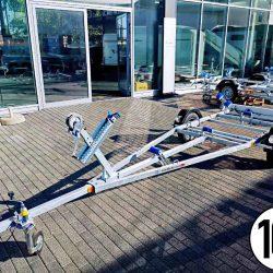 750kg | Bootstrailer Bootsanhänger|  Kurbelstützen