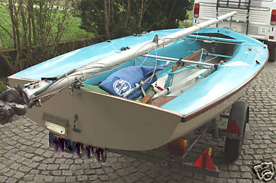 Segelboot / Segeljolle 420 LANAVERRE gebr. komplett überholt