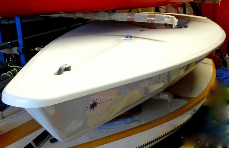 Segelboot LASER 1 RACE Bj. 98, gebr. sehr guter Zustand