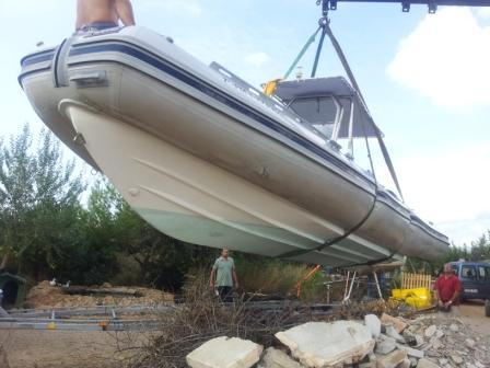 rib festrumpfschlauchboot auf mallorca boot neue und gebrauchte boote kostenlos. Black Bedroom Furniture Sets. Home Design Ideas