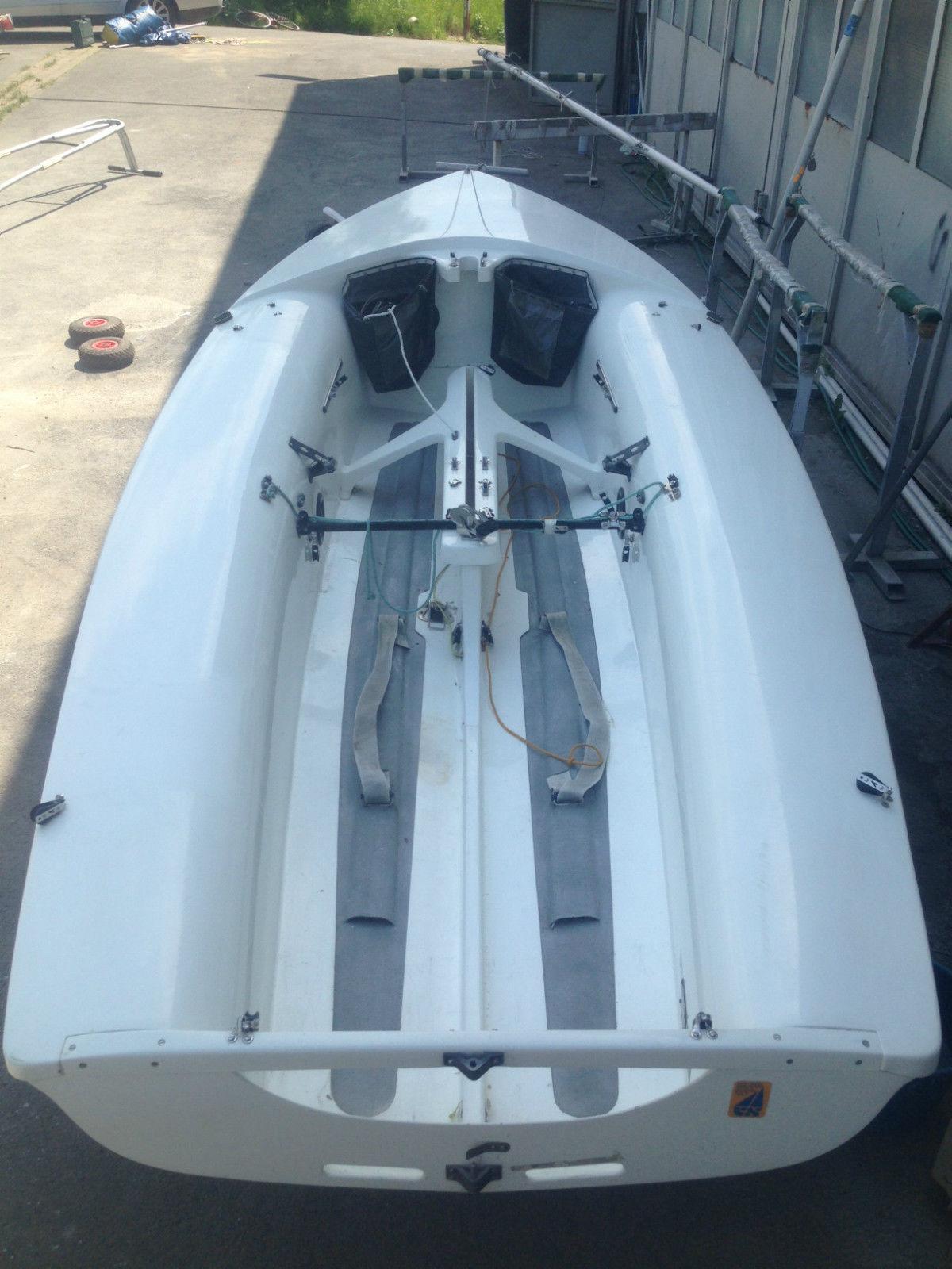 Segelboot 470 PARKER, komplett überholt, sehr guter Zustand
