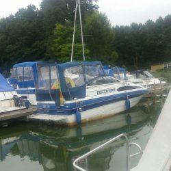 Motoryacht Motorboot Bayliner2455