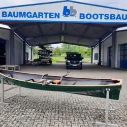 Traditional Trainer Einer Ruderboot mit Rollsitz