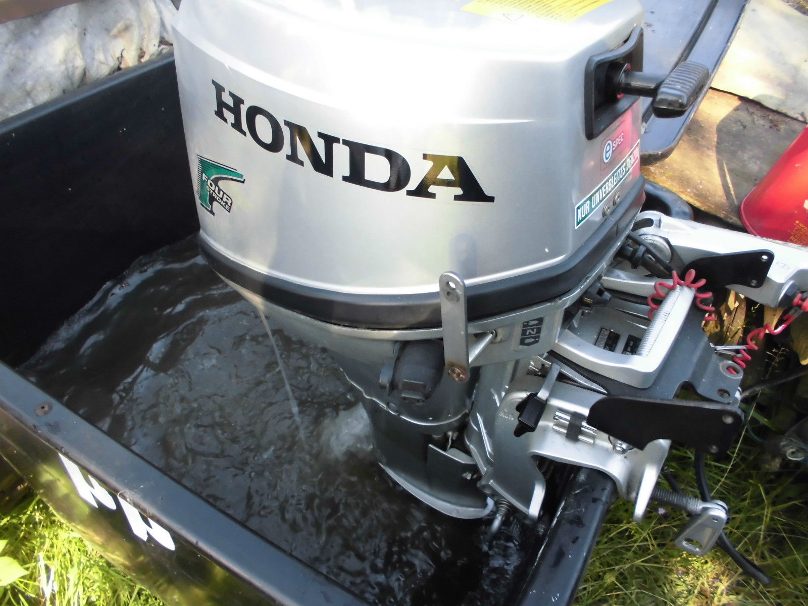Aussenbordmotor Honda 6 ps kurzschaft mit Bodenseezulasung