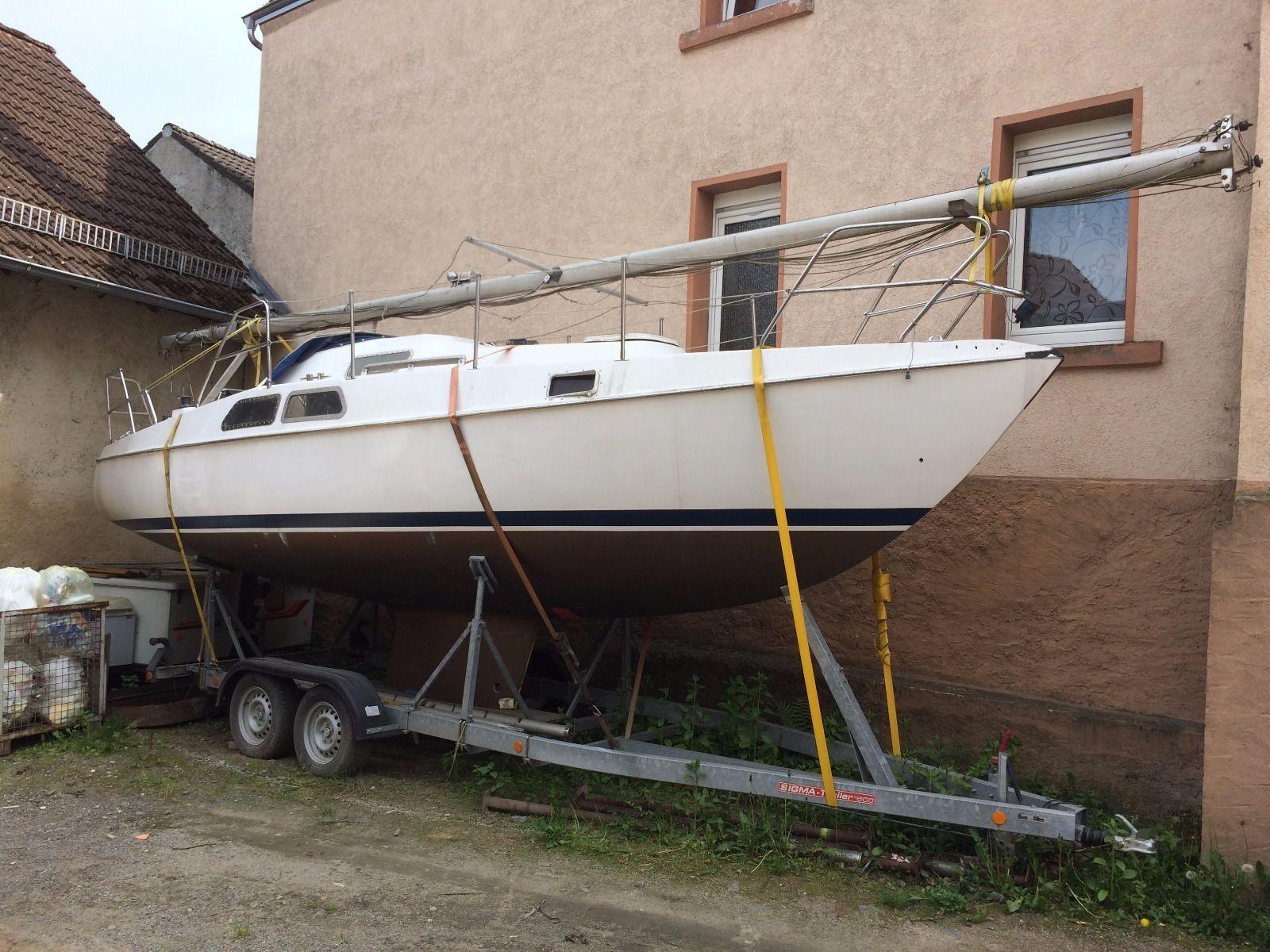 Segelboot Yacht Deerberg Amethyst mit Volvo Penta MD2a 13 PS