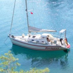 Top gepflegtes Segelboot