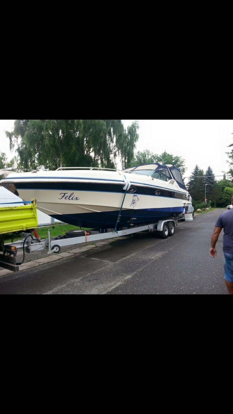 Colombo 36 Yacht Sport 11m. 660 Ps. mit Trailer