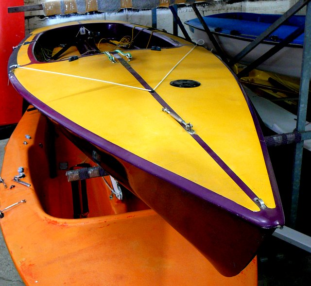 Segelboot CONTENDER RONDAR Bj. 74, gebr. guter Zustand