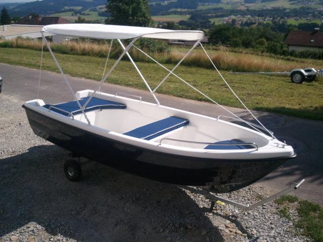 NEUES 390 cm Angelboot Ruderboot Fischerboot Boot Familienboot ev. mit Anhänger Bootstrailer Bootsanhänger & Zubehör Motor