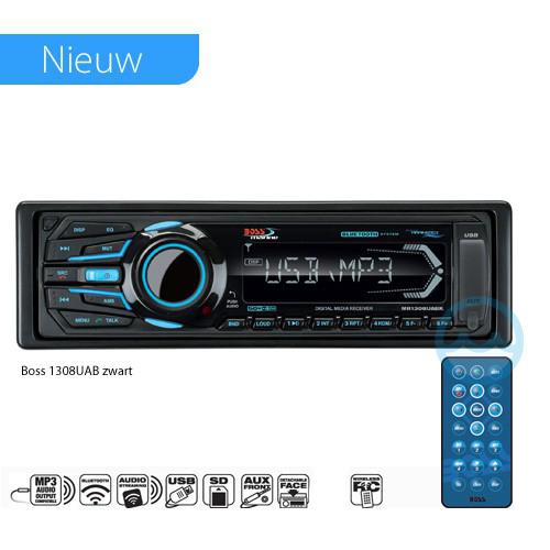 Boss Marine Radio 1308UAB 200 Watt mit Fernbedienung schwarz
