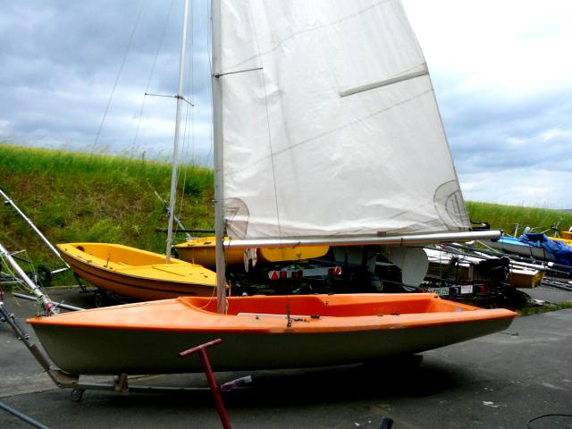 Segelboot Klepper Trainer segelfertig gebr.