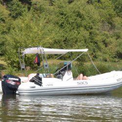 Sacs, Sacs 590, Sportboot, Rib, Festrumpfschlauchboot, Schlauchboot, Boot,