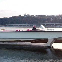 Tragflügelboot Strela (Volga)