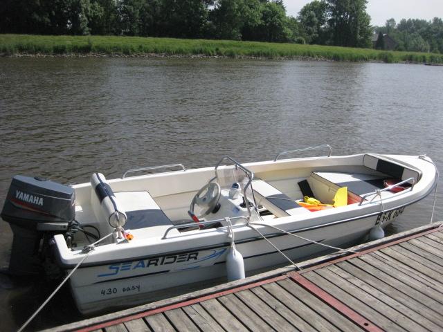 Motorboot, Angelboot, Konsolenboot mit Außenborder 25 PS mieten