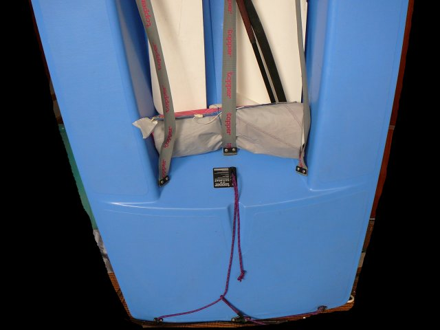 Segelboot TOPPER DUNHILL, gebr. segelfertig, sehr guter Zustand