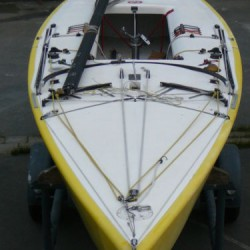 STAR-Boot Segelboot, Kielboot Werft MADER überholt, guter Zustand, Olympiaklasse