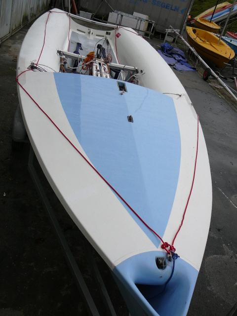 Segelboot 505 PARKER, gebr. optisch & technisch Top-Zustand