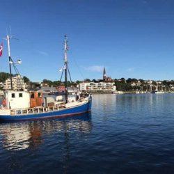 gut erhaltener Haikutter, ex MHV Kutter, Berufsschiff bis 2014; Motor Grenaa 3F24