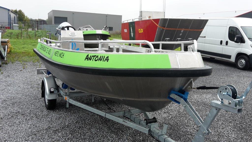 Coenenboat CF 450 komplett