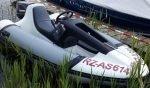 Schlauchboot Motorboot Wasserski