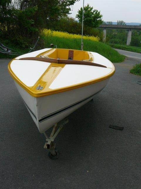 Segelboot CYCLONE gebr., kompl. segelfertig, sehr guter Zustand