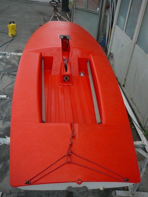 Segelboot TOPPER DUNHILL gebr. Deck etwas verblasst,guter Zustand