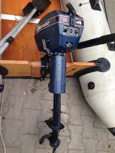 Schlauchboot Ruderboot Schlauch- Boot Wiking Sport mit Aussenborder Motor