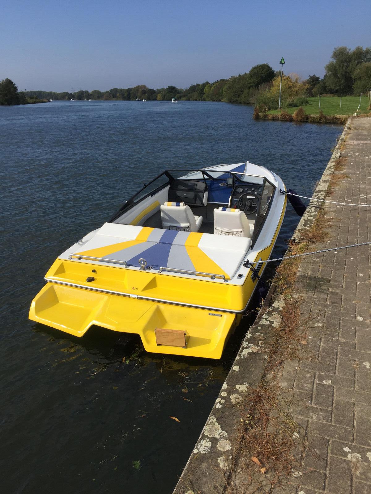 Sportboot Renken 1700 Spitfire, EZ 04/1998, 110KW(150PS)