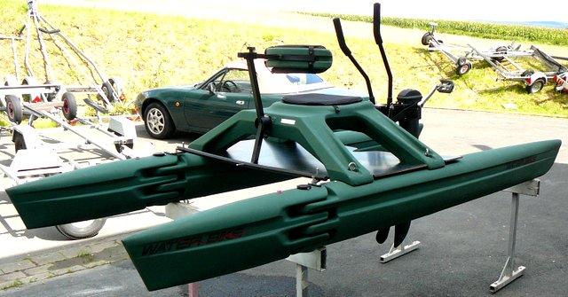 Water-Bike/Wasserfahrrad mit ARM-ACTION bis 22 km/h