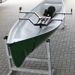 Ruderboot mit Rollsitz, Baumgarten Family Trainer Einer