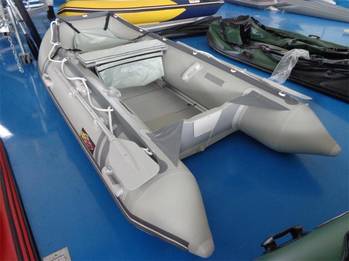 Schlauchboot 420m x 2,02 mit Aluboden und viel Zubehör  von HPS-Boats