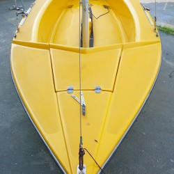 GRUBEN GIBSY Sport 425 Jolle gebr., kompl überholt, segelfertig