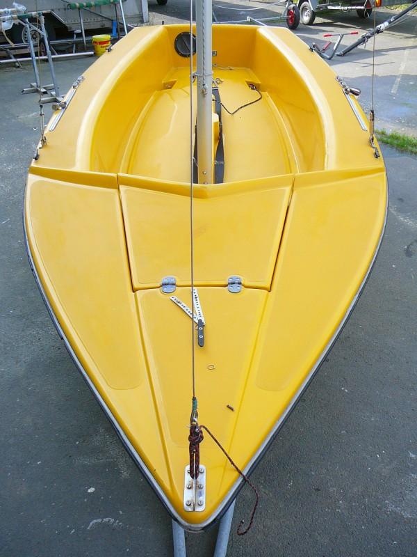 Segelboot GRUBEN GIBSY Sport 435 gebr., kompl überholt