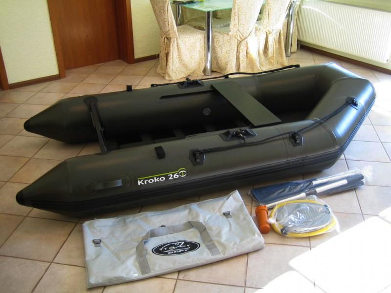 schlauchboot kroko 260 angelboot boot neue. Black Bedroom Furniture Sets. Home Design Ideas