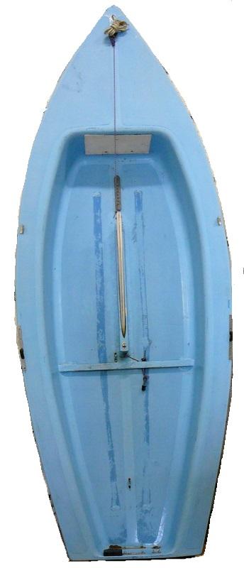 Segelboot / Jolle 4 m komplett mit Rigg, überholungsbedürftig
