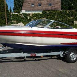 Sportboot Motorboot Glastron 177 Elite 1,3t Trailer 2Kr.Kühlung