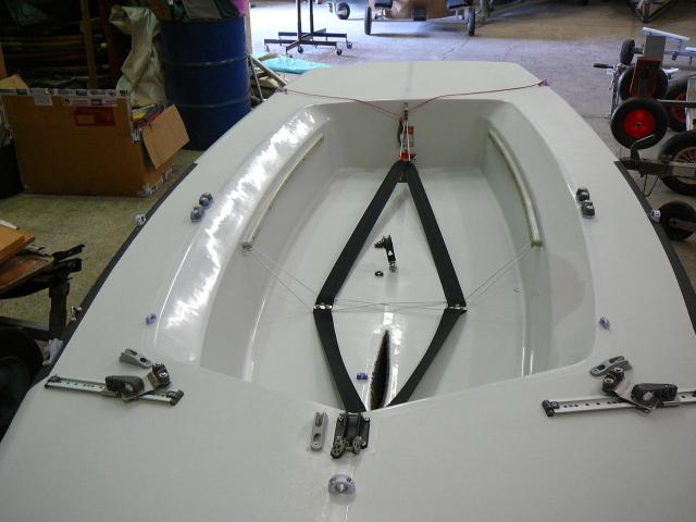 Segelboot LASER 2 Regatta Bj. 2000, gebraucht, sehr guter Zustand