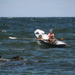 Coastal Surf Rower, Ruderboot für Strand und Fjord