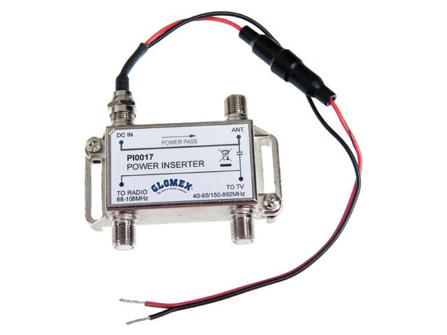 Glomex TV/Radio Antenne VT300 Avior DVBT mit 24,5dB Verstärkung