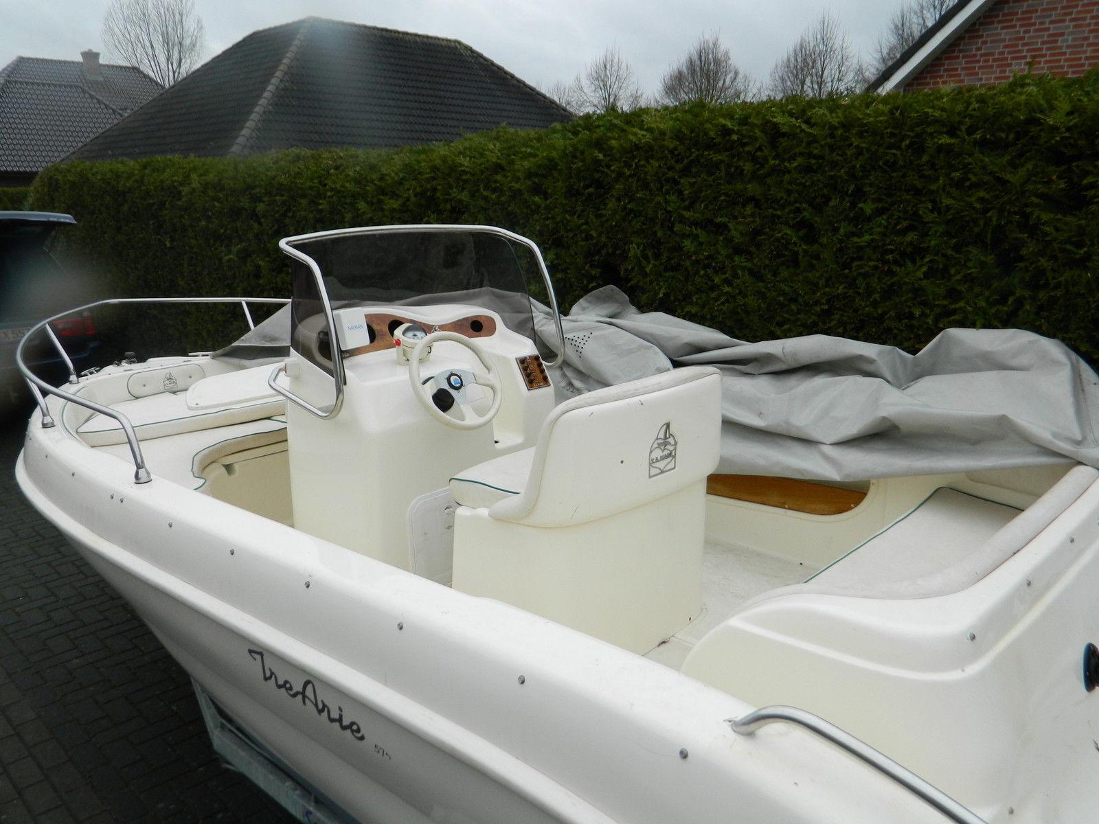Sportboot, Konsolenboot bis 150 PS Maße 5,7m x 2,4m T.A. Mare Tri Arie 19 Fuss